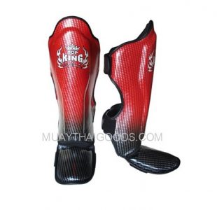 TOP KING SHIN PADS SUPER STAR RED BLACK