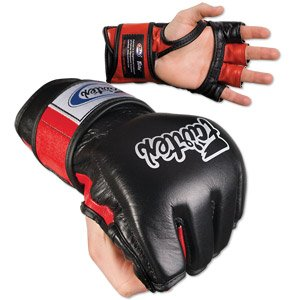 FAIRTEX MMA UFC GRAPPLING SPARRING GLOVES FGV 12 Black