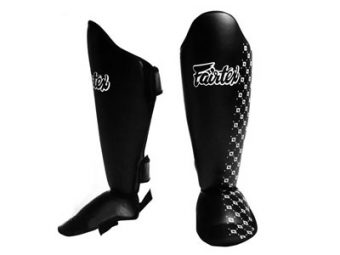 FAIRTEX SP5 SHIN GUARDS PROTECTION BLACK