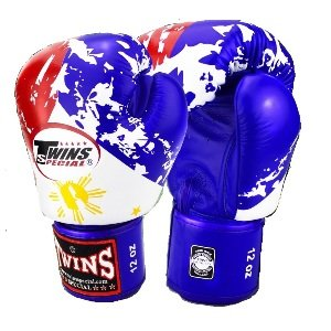 TWINS SPECIAL Fancy Boxing Gloves Philippines Flag FBGV 44