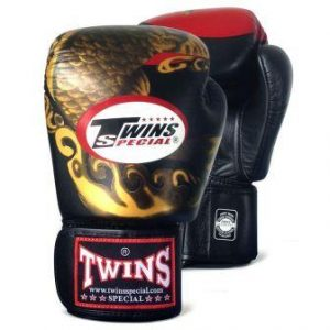 Twins Special Thai Boxing Gloves Koi Fish Review FBGV 34
