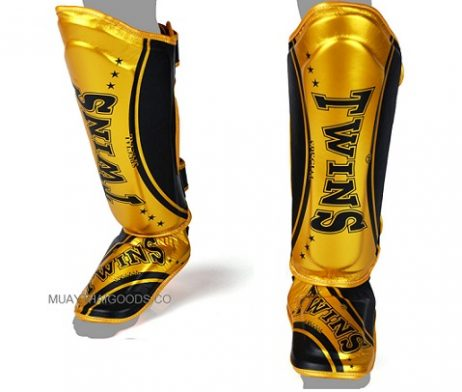 Twins Special Shin Pads Protection SGL10 TW4 CLASSIC GOLD