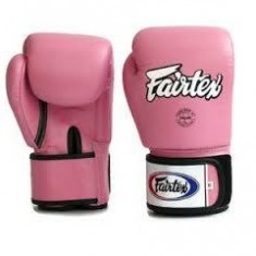 FAIRTEX BGV1 BOXING GLOVES - MUAY THAI GLOVES - PINK