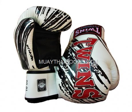 Twins拳擊手套 SPECIAL BOXING GLOVES REVIEW NEW TW2 WHITE BLACK