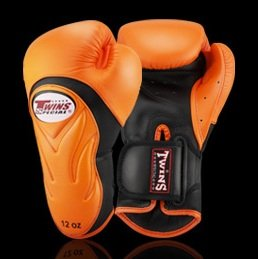 TWINS SPECIAL BOXING GLOVES NEW BGVL 6 ORANGE