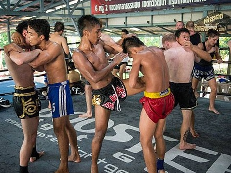 training muay thai in thailand