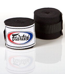FAIRTEX HAND WRAPS BLACK