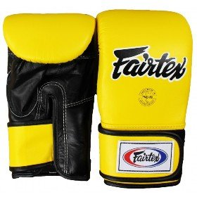 FAIRTEX BAG GLOVES TGT7 YELLOW