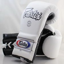 FAIRTEX BGL 7 MEXICAN GLOVE WHITE BLACK PALM
