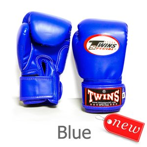 TWINS BOXING GLOVES MUAY THAI KID' S BLUE BGVL 3