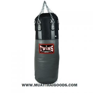 WINS GYM HEAVY BAG GREY BLACK HBNL