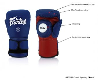 FAIRTEX COACH SPARRING GLOVES BGV 13