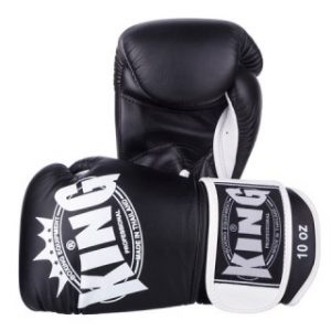 KING PROFESSIONAL BOXING GLOVES AIR VELCRO