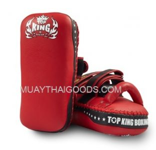 TOP KING KICKING PADS SUPER STRAIGHT RED BLACK