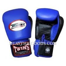 TWINS BOXING GLOVES BLUE BLACK