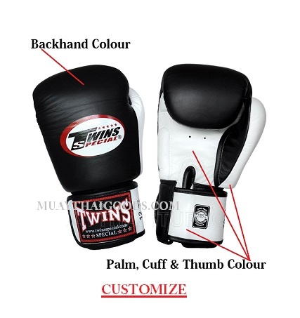 customize boxing gloves made by Twins