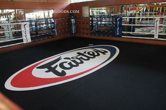 Floor Canvas Boxing Ring Made By Fairtex Muay Thai Goods