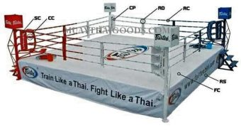 LONG CORNER PAD FOR BOXING RING MADE BY FAIRTEX