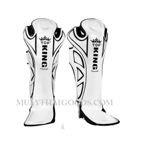 TOP KING PRO SHIN GUARDS POWER RANGER TKSGP-GL WHITE