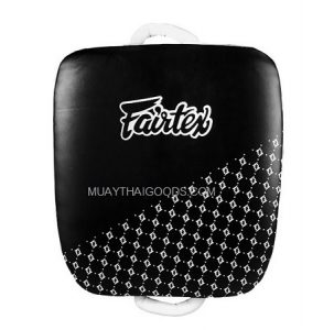 FAIRTEX LKP1 STRIKE KICK BLACK WHITE PADS