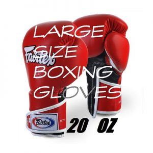 LARGE SIZE BOXING GLOVES 18 AND 20 OZ MADE BY FAIRTEX AND TWINS