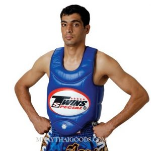 TWINS SPECIAL TRAINER VEST BODY GUARDS PROTECTOR BOPL-1 BLUE