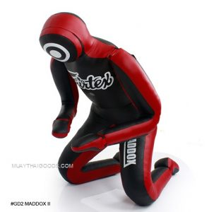 FAIRTEX GD2 MADDOX II ULTIMATE GRAPPLING DUMMY BLACK RED (Unfilled)