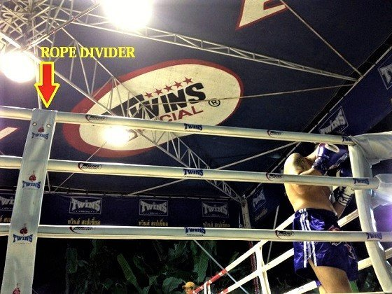 TWINS BOXING RING ROPE COVER DIVIDERS 8 PIECES ( 1 SET )