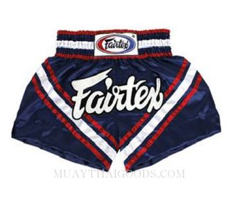 FAIRTEX MUAY THAI BOXING SHORTS NAVY BLUE BS0653