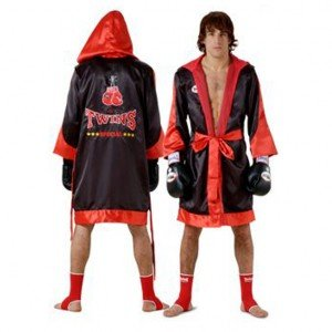 FIGHTER ROBES TWINS SPECIAL FTR3 BLACK RED