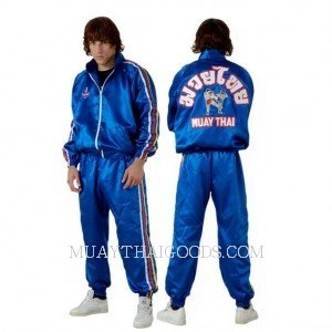 TRACK SUITS MADE BY TWINS SPECIAL TKS2 BLUE, The choice of pro Muay Thai fighters, trainers and gym owners worldwide, the Twins Special Tracksuit Tks-2 are built to last and take the punishment of the toughest Muay Thai, boxing and MMA training sessions
