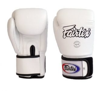 FAIRTEX BGV1 BOXING GLOVES WHITE