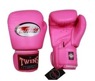 TWINS CHILDREN BOXING GLOVES MUAY THAI PINK BGVS 3