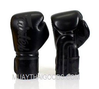 FAIRTEX BGV14 BOXING GLOVES BLACK BLACK is realized in micro fiber which lasts perhaps more of cow skin ...