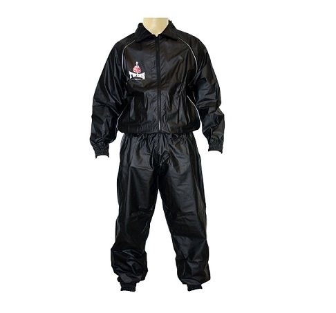 VSS 1 SWEAT SUIT MUAY THAI BOXING TRAINING RUNNING TWINS SPECIAL BLACK - mUAY tHAI gOODS