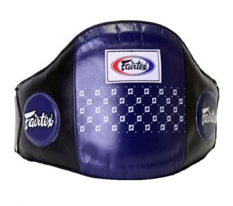 STANDARD LEATHER BELLY PAD BPV1 FAIRTEX BLUE