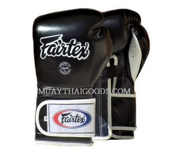 BGV9 BLACK BLUE WHITE MEXICAN STYLE GLOVES FAIRTEX