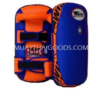 KPL2 KICK PADS TRAINING STRAIGHT TWINS SPECIAL BLUE ORANGE