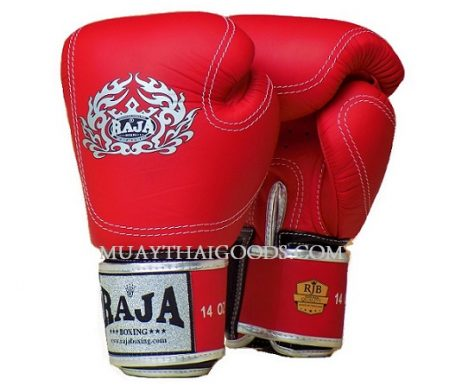 LEATHER PORSCHE BOXING GLOVES RED MADE BY RAJA