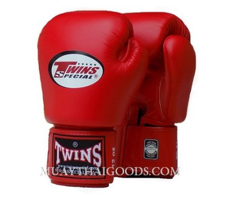RED COMPETITION TWINS SPECIAL BOXING GLOVES BGVL3 - MUAY THAI GOODS