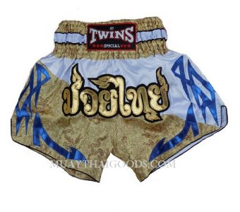 SAND DRAGON PATTERN MUAY THAI TWINS SHORTS