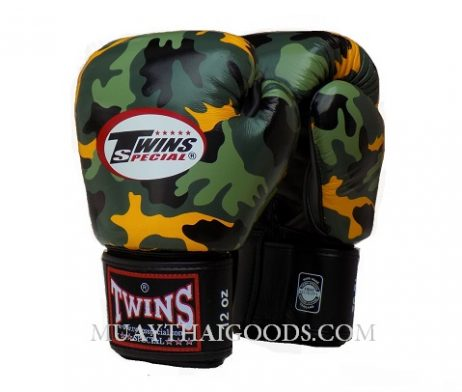 TWINS SPECIAL JUNGLE Boxing Gloves ARMY MILITAR