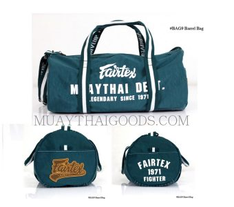 NEW BARREL BAG FAIRTEX BAG9 WATERPROOF NYLON