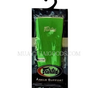 ANKLE GUARDS SUPPORT MADE BY FAIRTEX GREEN LIME FREE SIZE