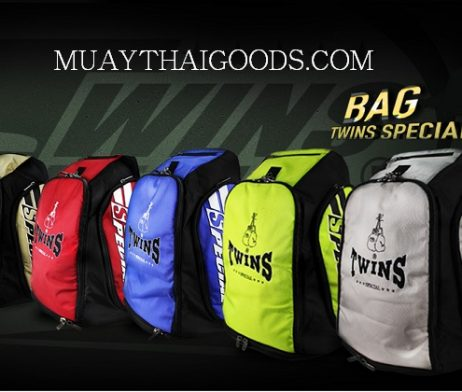 TWINS SPECIAL TRAINING GYM MUAY THAI BOXING BACKPACKER BAG5 MADE IN NYLON