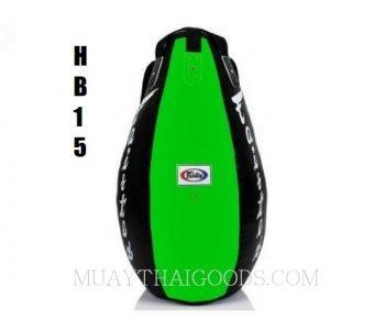 FAIRTEX Tear Drop Heavy Punching Bags HB15 green black