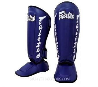 Fairtex MUAY THAI BOXING Shin Pads SP7 BLUE
