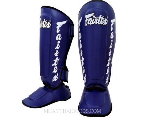 Fairtex MUAY THAI BOXING Shin Pads SP7 BLUE