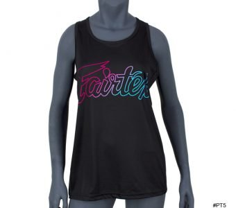 LIGHTWEIGHT TANK TOP PT5 BLACK FAIRTEX WOMAN LADY