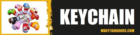 muay thai boxing keychain keyrings accessories